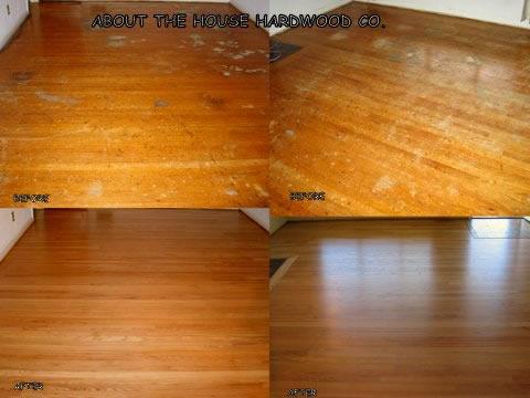 Hardwood Painted Floors